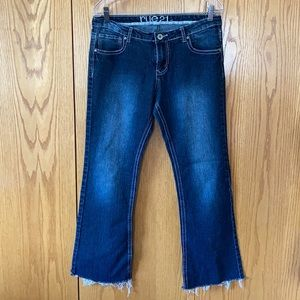 Rue21 mid-rise boot cut jeans